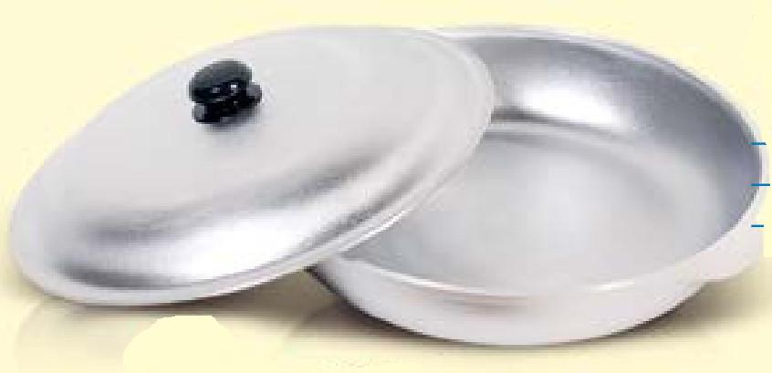 Сковорода 30 см с крышкой БС30ук