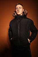 Куртка мужская зимняя / до - 25* / черная