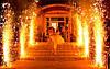 Дорожка из фонтанов (фейерверков)