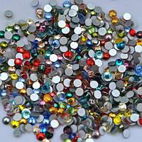 Стразы стекло микс цветов 720 шт