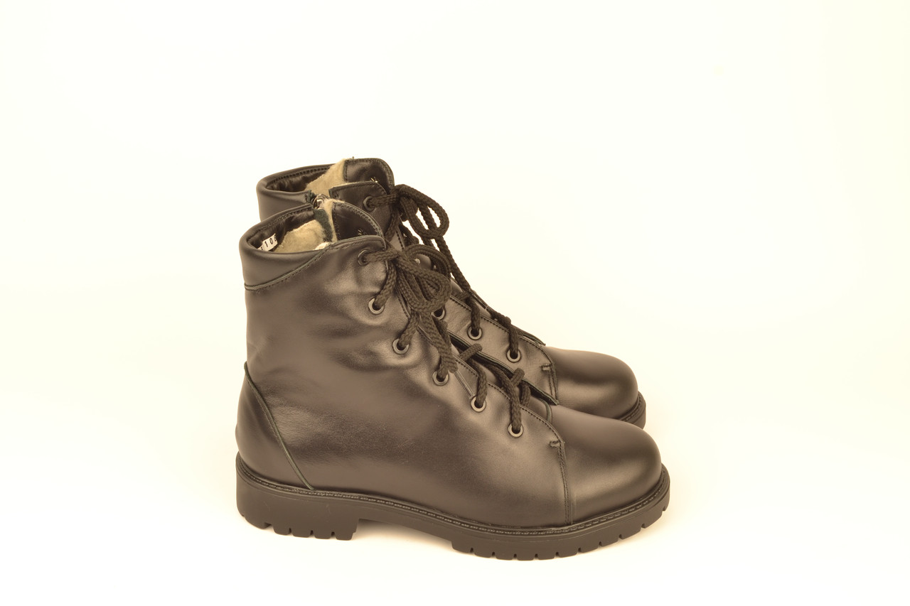 Детские ботинки для девочек натуральная кожа зимние и демисезонные от производителя KARMEN 133108