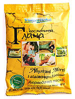 Глина Мултани Митти аюрведическая натуральная с травами, Triuga Herbal , 35г