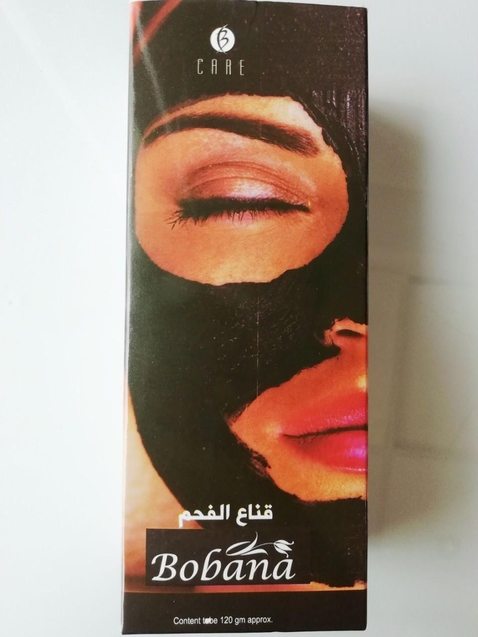 Черная маска для лица Bobana Black Mask