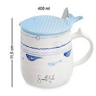 Чашка Ловись, рыбка MUG-102/3. Морской сувенир