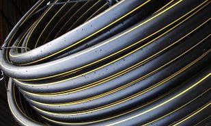 Труба полиэтиленовая для газа d20-400мм, ПЭ 80, ПЭ 100