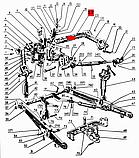 Вал поворотный МТЗ-80, Д-240 задней навески, фото 2