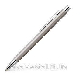 Шариковая ручка Faber-Castell NEO Slim Stainless Steel, Matt, матовый корпус, 342120