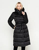 Женская зимняя куртка воздуховик Braggart Angel`s Fluff черний модель 31515  размер 44 46 48 a4932725dc204