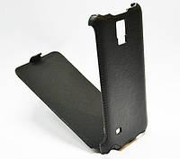 Чехол-книжка для телефона Samsung G800 Galaxy S5 mini (black Armor flip case)