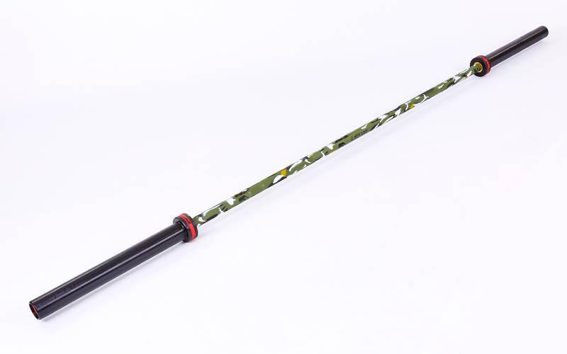 Гриф професійний для кросфіту 50 мм до 680 кг Zelart TA-7233