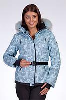 Горнолыжная куртка женская Avecs blue militari, фото 1