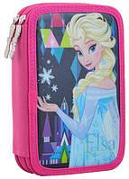 Пенал раскладной  книжка 1 Вересня Frozen 1 Розовый, КОД: 225783