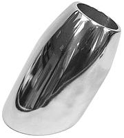 Нержавеющий стакан-бочонок для релинговой стойки с наклоном 60 градусов