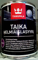 Tikkurila TAIKA HL перламутровая лазурь Тиккурила Тайка серебро 0.9 л