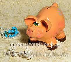 Копилка Свинка с бочкой и Свинка веселая, фото 2