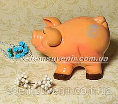 Копилка Свинка с бочкой и Свинка веселая, фото 3