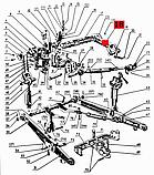 Важіль навіски правий МТЗ-80, Д-240 посилений, фото 5