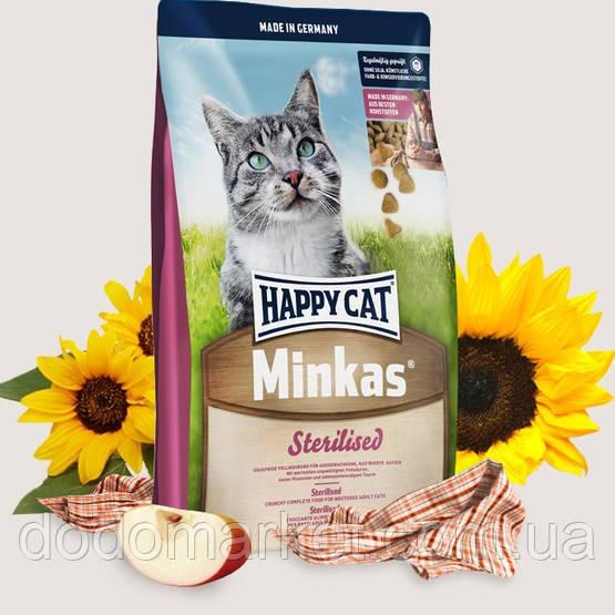 Сухой корм для кошек Happy Cat Minkas Sterilised 1.5 кг