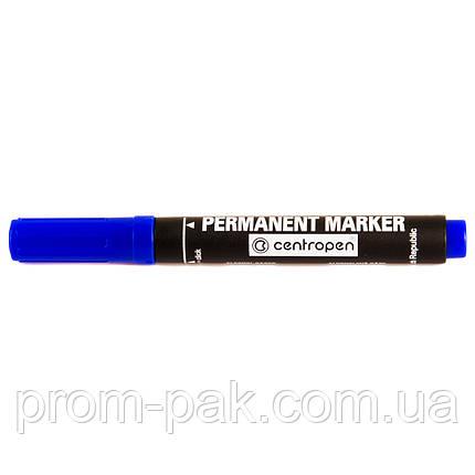 Сentropen маркер перманентный 8566 синий, фото 2