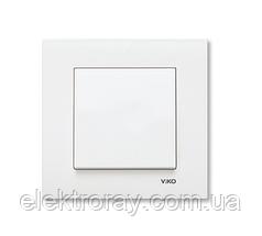 Выключатель белый Viko Karre