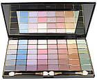 Палетка теней для век Ruby Rose Beauty Eyeshadow Kit 48 цветов перламутровые с блестками HB-348 Тон № 01, фото 7