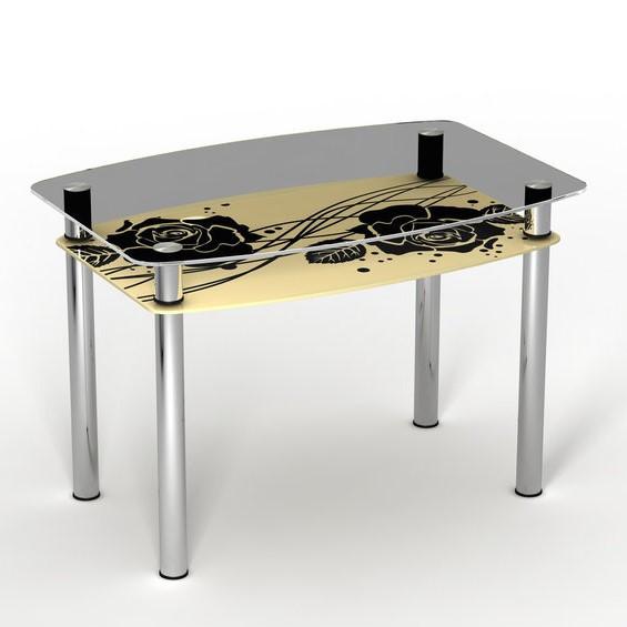"""Столы обеденные стекло """" Камелия"""""""