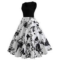 Женское Вечернее миди платье в Ретро- стиле