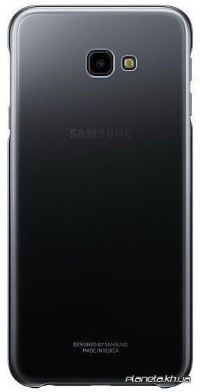 Samsung Gradation Cover оригинальный силиконовый чехол для J4+ 2018 Black