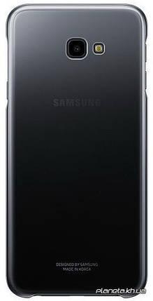 Samsung Gradation Cover оригинальный силиконовый чехол для J4+ 2018 Black, фото 2
