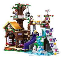Конструктор JVToy 18001 Домик на дереве 745 деталей (Аналог Lego Friends лего)
