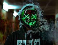 Светящаяся маска (LED mask). От производителя в Украине