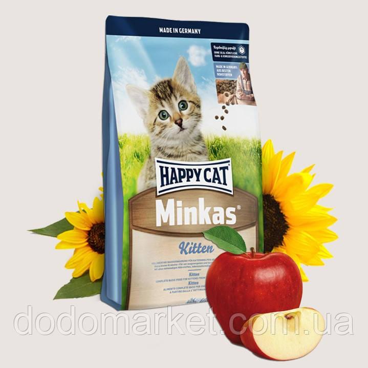 Сухой корм для котят Хеппи Кет Минкас Happy Cat Minkas Kitten 10 кг