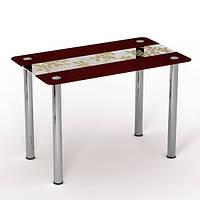 """Скляний стіл """"Китайський шовк"""" ТМ Sentenzo"""