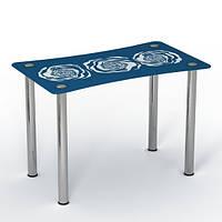 """Скляний стіл """"Океан"""" ТМ Sentenzo"""