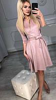 Платье женское замшевое  руд200, фото 1