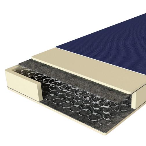 Ортопедичний медичний матрац з пружинним блоком Боннель Ortomed EMM