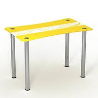 """Скляний стіл """"Сонячний луг"""" ТМ Sentenzo"""