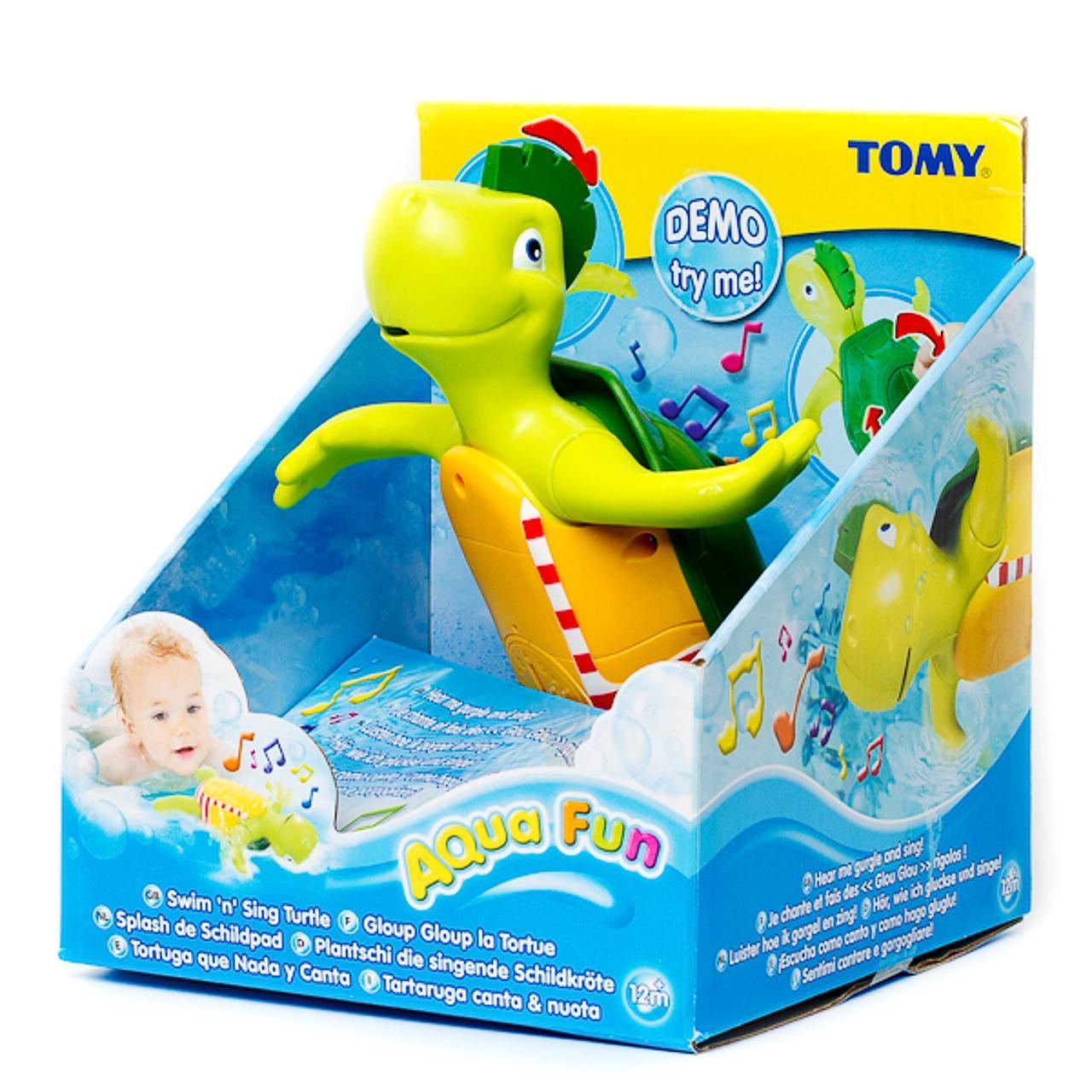 Музыкальная водная Черепашка для ванной Tomy  2712