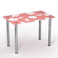 """Скляний стіл """"Ніжність"""" ТМ Sentenzo"""