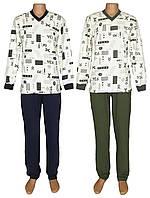 NEW! Теплые мужские трикотажные пижамы для сна и дома - серия Pocket Soft Contrast ТМ УКРТРИКОТАЖ!