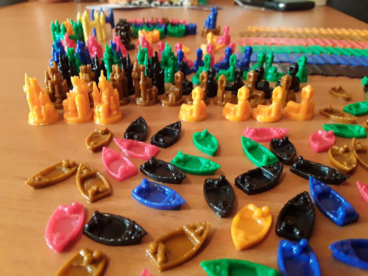 Колонизаторы мореходы, Catan набор на 6 игроков