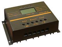 Контроллер заряда SOLAR60 (12/24В, ток 60А, ЖК индикатор, выход USB 5В)
