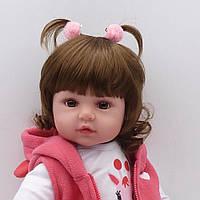 Кукла реборн 48 см девочка Арина
