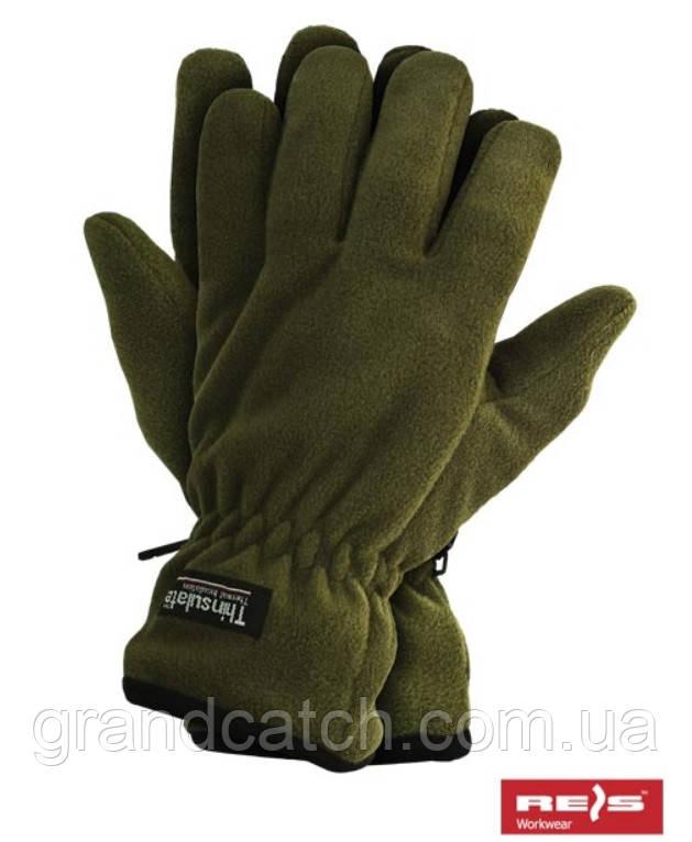 Перчатки флисовые Tinsulate Reis (олива)