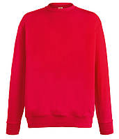 Свитшот Fruit of the Loom Lightweight set-in sweat S 40 Красный (062156040S)
