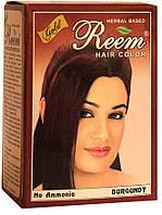 Краска для волос REEM на основе хны Коричневая Индия