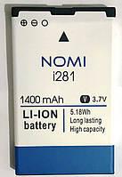 Original Акумулятор NOMI i281 NB-281 1400mAh