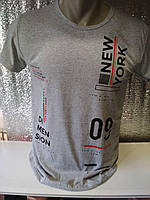 "Мужская футболка ""09"" Турция опт р. M, L, XL, XXL"
