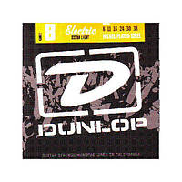 Струны для электрогитары  Dunlop DEN0838 Nickel Plated Steel Extra Light (008-038)
