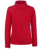 Толстовка Fruit of the Loom Full zip fleece lady-fit L 40 Красный (062066040L)